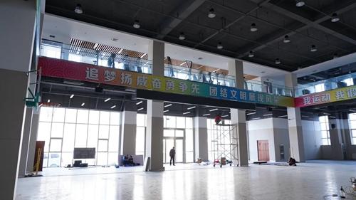 酷声扩声应用于北京某部队体育馆