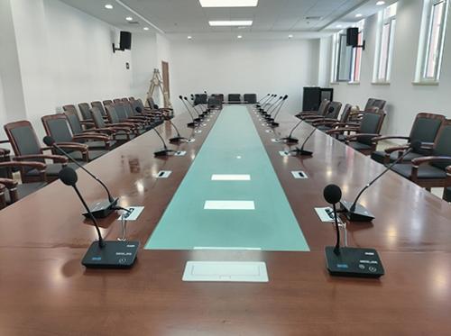 酷声会议扩声系统成功应用于青岛农业大学会议室
