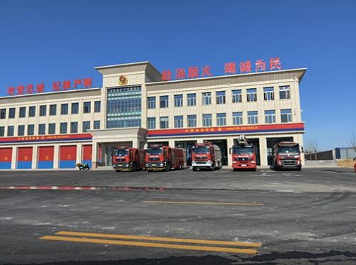 酷声扩声系统成功应用于滨州市沽化经济开发区特勤消防救援站电影院
