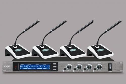 无线会议话筒(一拖四) YC-480
