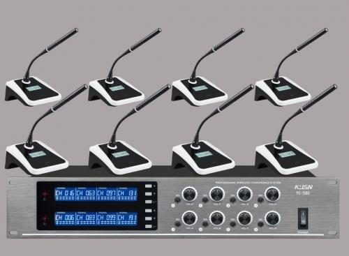 无线会议话筒(一拖八) YC-580