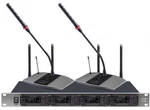 一拖四无线会议话筒 YC-480F