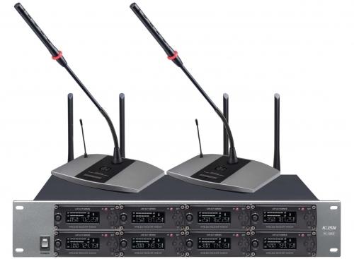 一拖八无线会议话筒 YC-580F