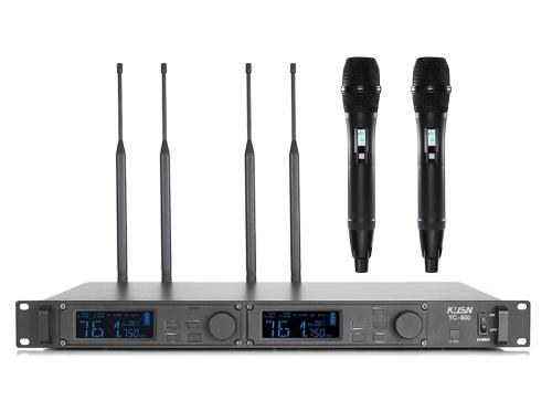 真分集无线麦克风 YC-500